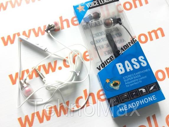 Наушники гарнитура Lenovo Extra Bass ES-38J metall для Lenovo S650 S658t, фото 2