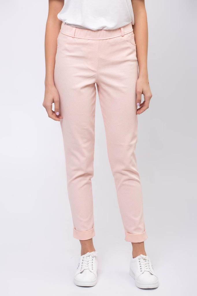 Персиковые брюки ERIKA