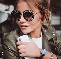 Женские солнцезащитные очки Gucci GG 0113S L'Aveugle par amour копия, фото 1
