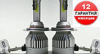 Автомобильные LED лампы FANTOM H1 ( а так же  H7, H4, H11) 5500K головного света.