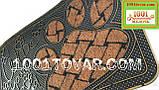 Придверні решіток гумовий килимок 70х40 див., фото 2