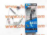 Наушники гарнитура Lenovo Extra Bass ES-38J metall для Lenovo A526, фото 1