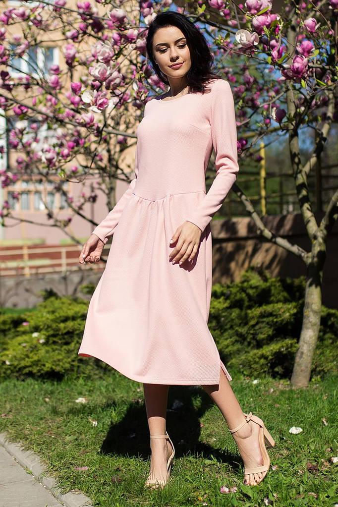 Розовое платье MARGARET
