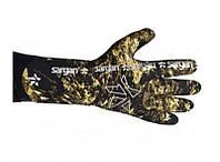 Ерчатки для подводной охоты с обтюрацией Sargan Калан Камо 4,5мм, фото 1