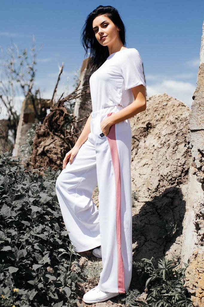 Белые брюки ALEX
