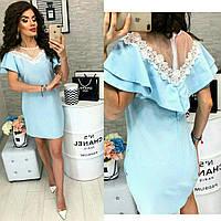 Платье женское с дорогим кружевом  костр7870, фото 1