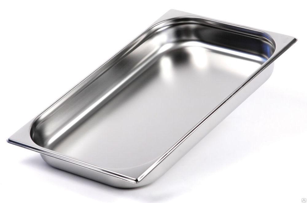 Гастроемкость GN 1/1-65 мм. нержавеющая сталь ECO, FoREST