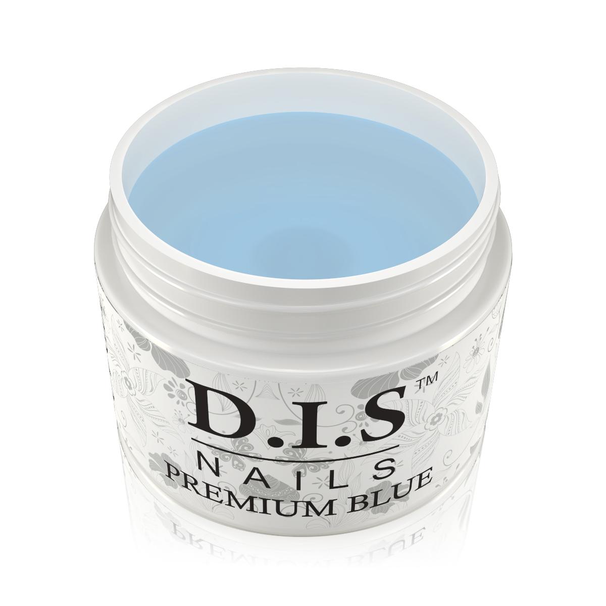 Однофазный гель D.I.S Premium blue (Прозрачный с голубым отливом) 30 гр.
