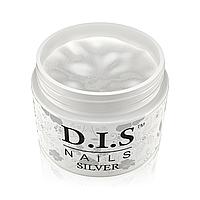 Однофазный гель D.I.S Nails Silver (серебро)  30 гр., фото 1