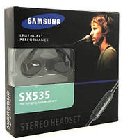 Наушники гарнитура Samsung SX-535 для Samsung Galaxy A6 Plus A605, фото 1