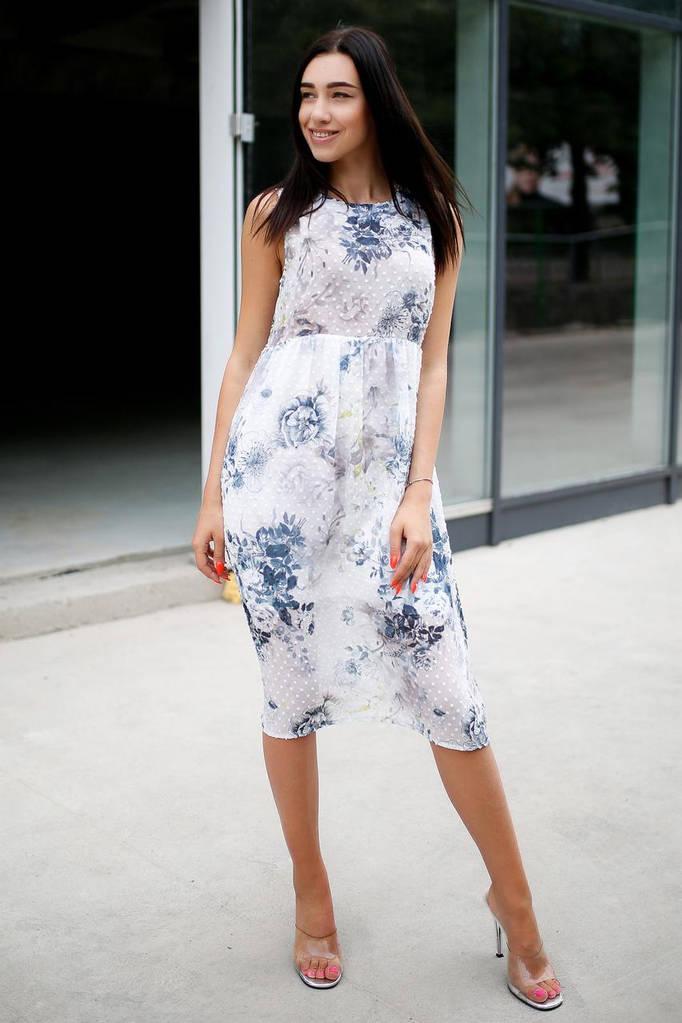 Белое платье Sophia