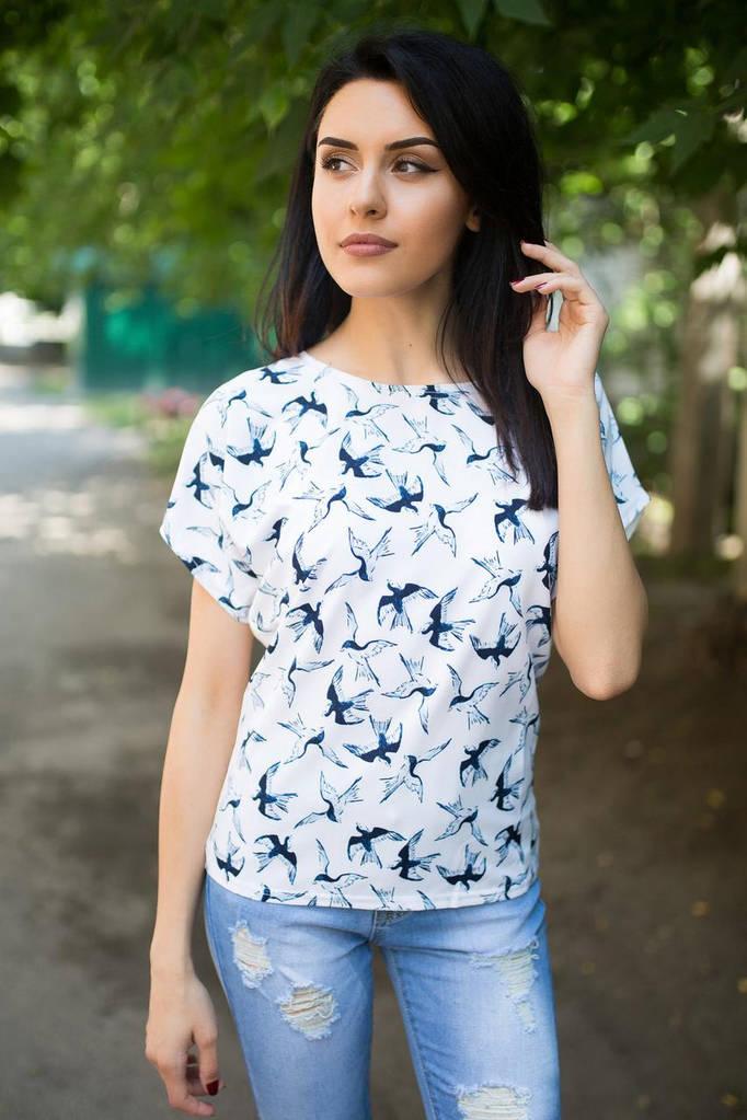 Белая блуза SOFI