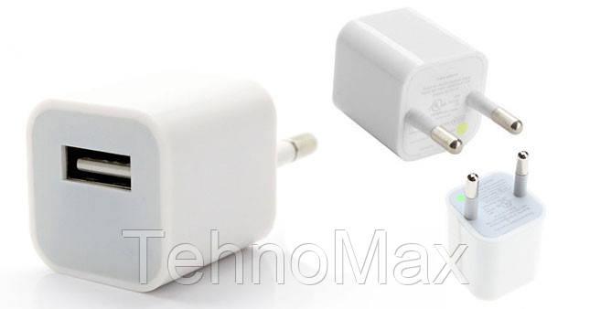Сетевое зарядное устройство для iPhone 8 / 8 Plus оригинал, фото 2