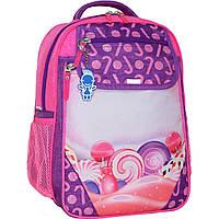 Украина Рюкзак школьный Bagland Отличник 20 л. 339 фиолетовый 409 (0058070), фото 1