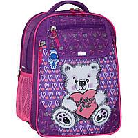 Украина Рюкзак школьный Bagland Отличник 20 л. 339 фиолетовый 377 (0058070), фото 1