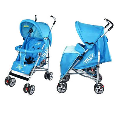 Прогулочная коляска-трость Baby TILLY Spring BT-SB-0003 BLUE