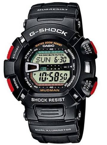 Наручные мужские часы Casio G-9000-1VER оригинал