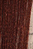 Шторы нити Облака Спиральки Шоколад, фото 1
