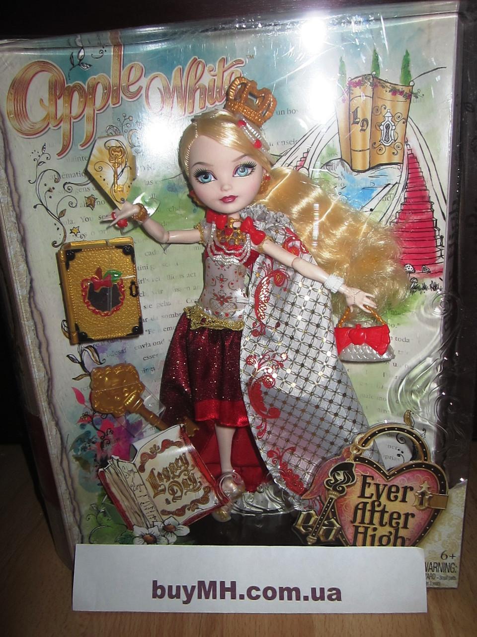 Кукла Ever After High Legacy Day Apple White Doll Эппл Вайт День наследия, фото 1
