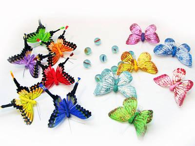 Птички и бабочки