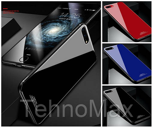 Силиконовый чехол Tempering Glass для iPhone X 10, фото 2