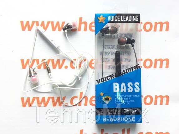 Наушники гарнитура Lenovo Extra Bass ES-38J metall для Lenovo A390 A390t A376, фото 2
