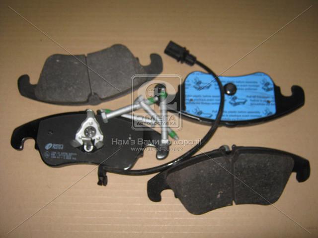 Колодка торм. AUDI A4 Berlina (8K2) Avant (8K5)(11/07-) передн. (пр-во REMSA) 1304.31