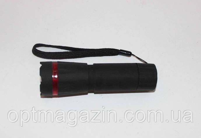 Ліхтарик гумовий з зумом, фото 2