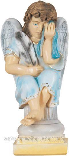 Скульптура Ангел плачущий 55 см полимер