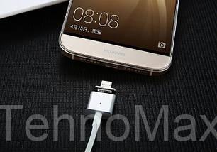 Магнитный кабель Micro USB для зарядки Lenovo K6, фото 2