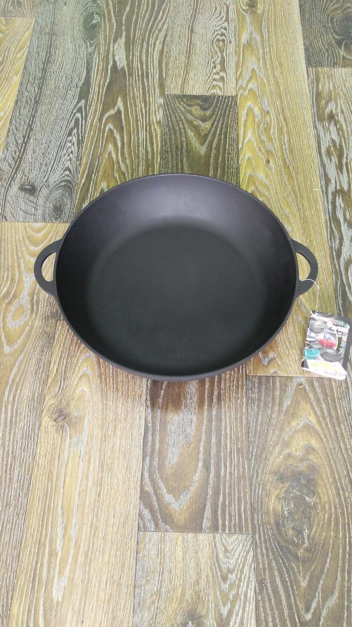 Сковорода жаровня 340 на 70 (з кришкою)