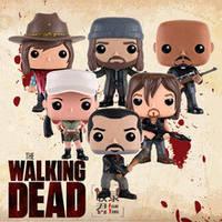 Коллекционные фигурки Фанко Поп Funko Pop Ходячие мертвецы The Walking Dead