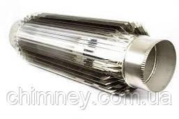 Дымоходная труба радиатор 100мм толщина 0,8 мм/430