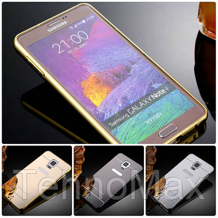 Чехол бампер для Samsung Galaxy Note 8 N950 зеркальный, фото 2