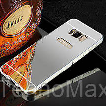 Чехол бампер для Samsung Galaxy Note 8 N950 зеркальный, фото 3