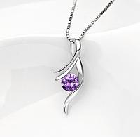 Подвеска скрипичный ключ стерлинговое серебро 925 пробы (код 1024)