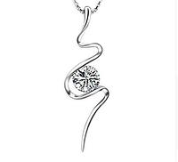 Серебряный кулон  Молния стерлинговое серебро 925 пробы (код 1026)