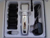 Машинка для стрижки волос PROMOTEC PM-357 белая, фото 1