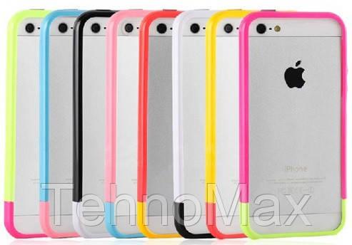 Чехол бампер SZLF Linear для на iPhone 5 5S SE, фото 2