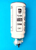 Елемент паливного фільтра сепаратора P-420 + колба відстійник