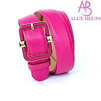 Ремень женский на шпеньке (розовый) 30 мм-купить оптом в Одессе