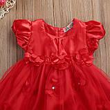 Нарядное платье с повязкой  размер 92., фото 3