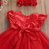Нарядное платье с повязкой  размер 92., фото 4