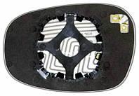 Зеркальный элемент (стекло зеркала) Бмв Е90 (10-) правый асферический с обогревом