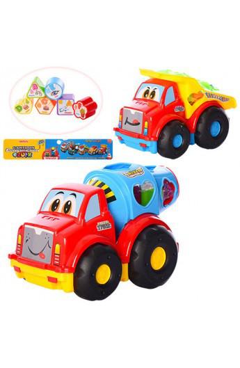 Дитяча іграшка машина сортер 40-50086