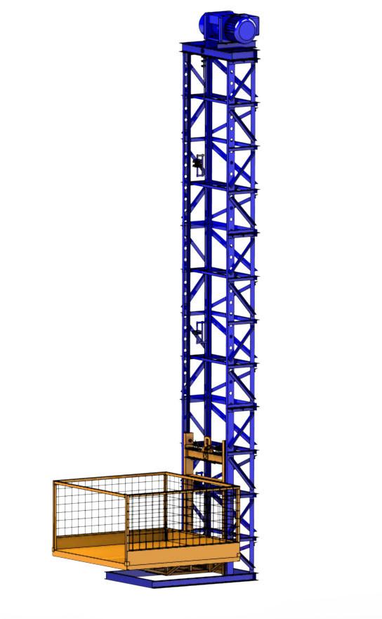LC500-6 Підйомник Консольний