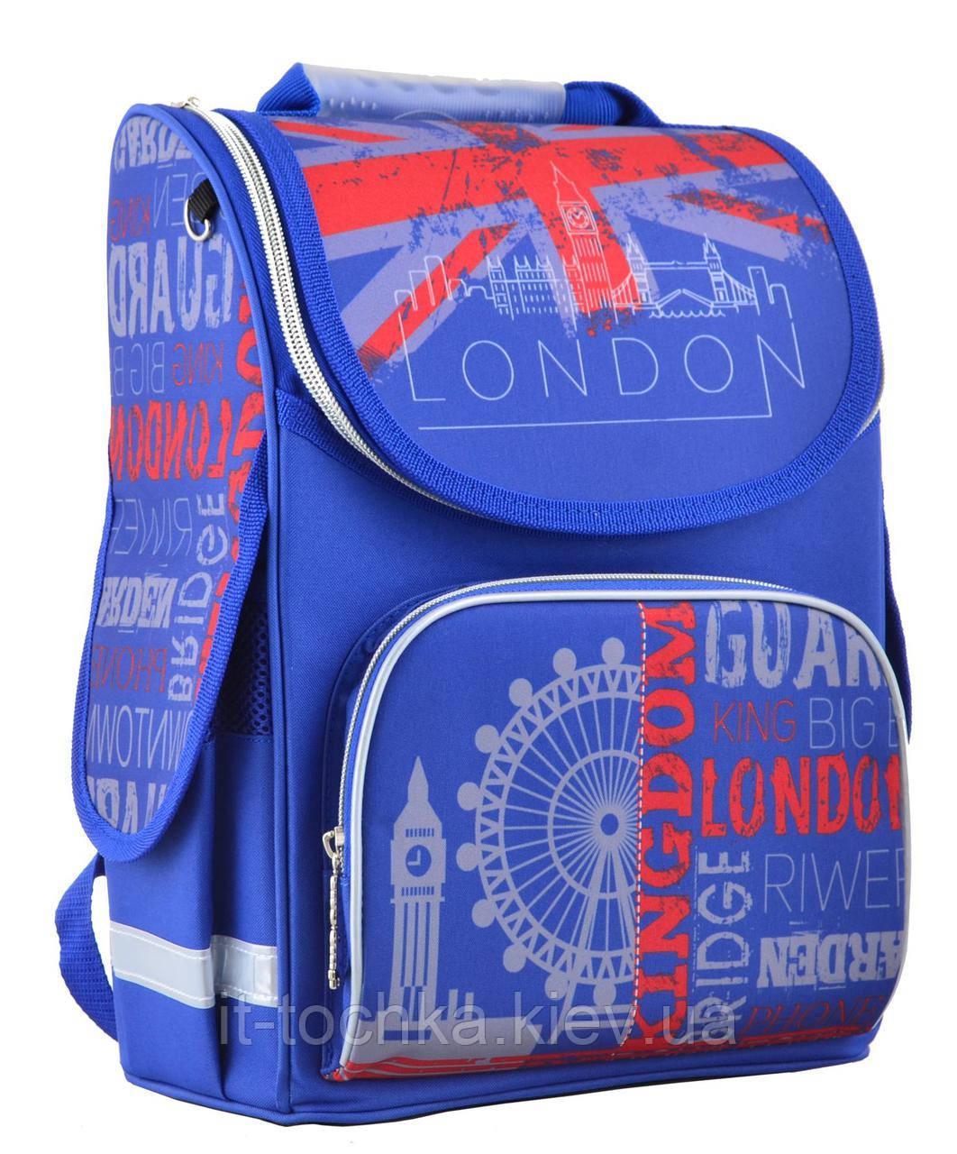 Рюкзак школьный каркасный smart pg-11 london, 34*26*14