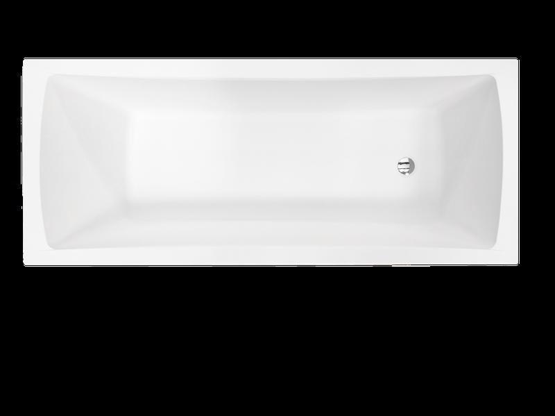 Ванна прямоугольная Besco PMD Piramida Optima, 1700x700х535 мм