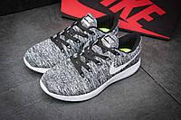 """Кроссовки мужские Nike Lunarepic Flyknit, серые (1002-5),  [  42 43 44  ] """"Реплика"""", фото 1"""