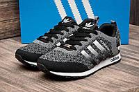 """Кроссовки мужские Adidas, серые (2484-1),  [  44 (последняя пара)  ] """"Реплика"""", фото 1"""
